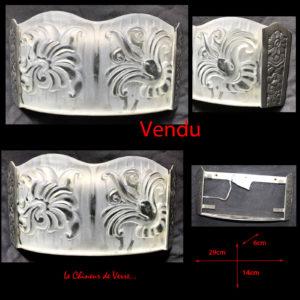 Chuanfeng sous-Verres irr/éguliers Pendentif Moule moules en r/ésine de Silicone pour la Fabrication de Bijoux Artisanat Bricolage Improved