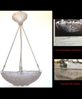"""Vasque R. Lalique """"Charmes""""."""