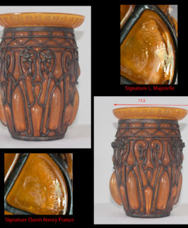 Daum et Majorelle : Vase