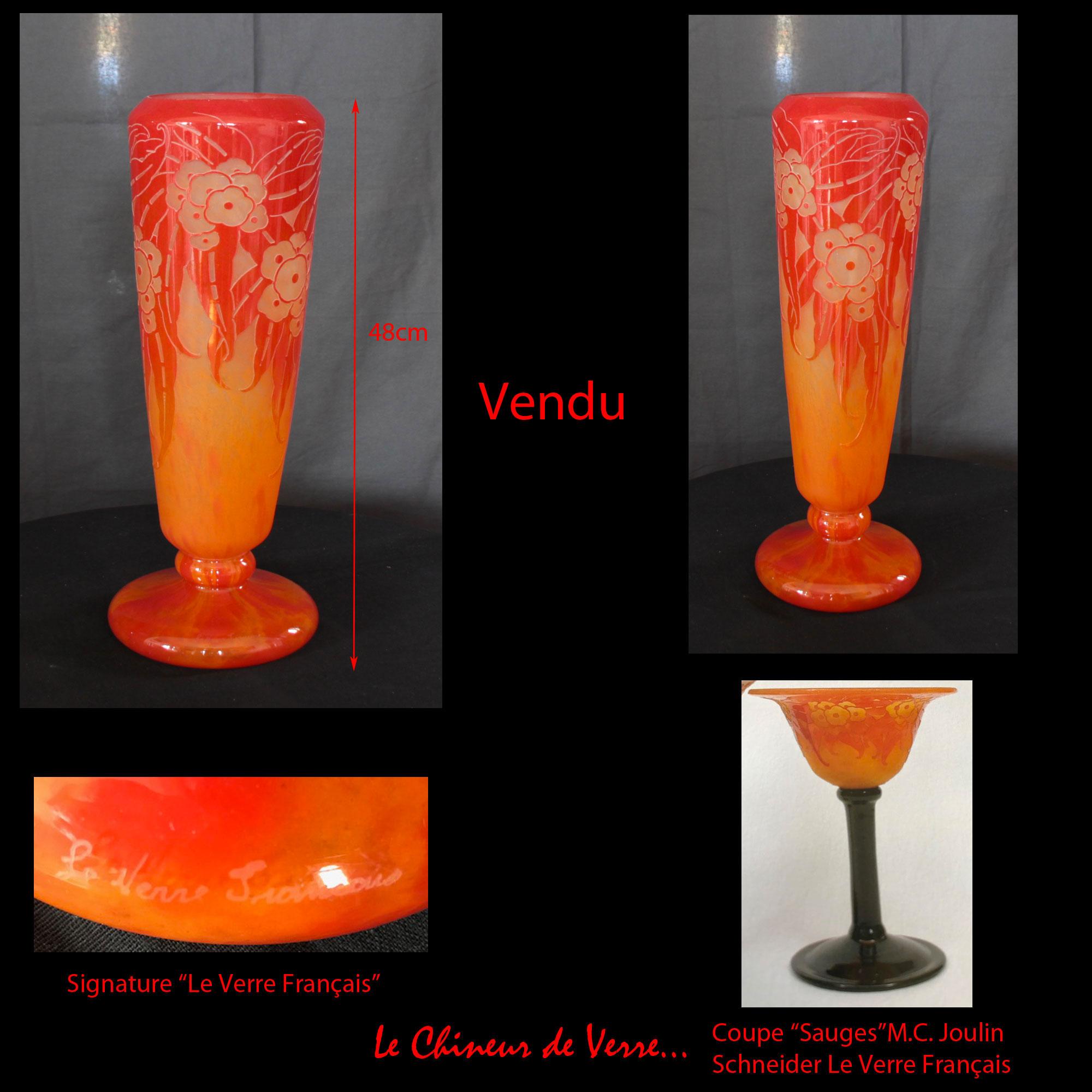 Vase-Sauges