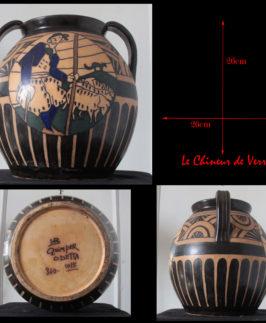 Odetta : Vase Art Deco